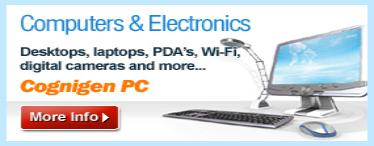 computers and electronics banner